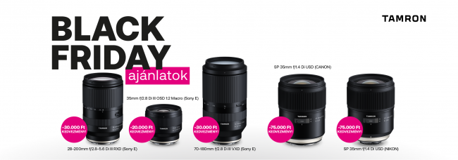 Tamron Black Friday