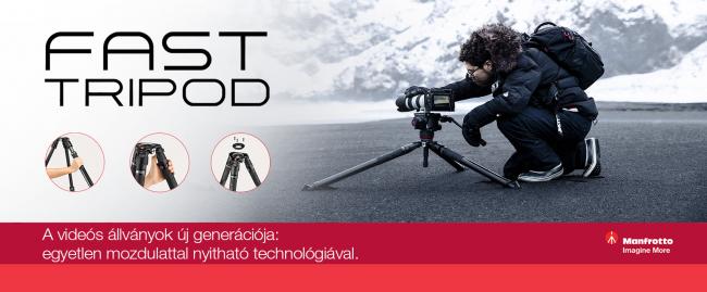 Fedezd fel az új Manfrotto Fast termékcsaládot