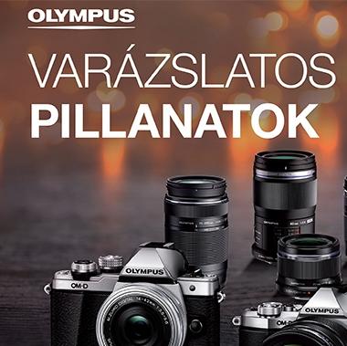 Varázslatos pillanatok - Olympus pénzvisszafizetés