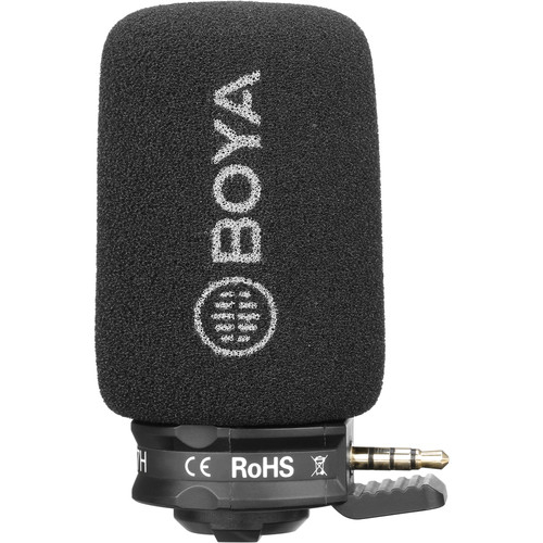 Boya BY-A7H 3,5mm jack P&P mikrofon 06