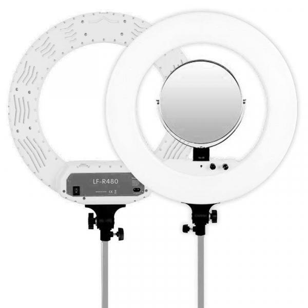Caruba Vlogger LED körlámpa, fehér 03