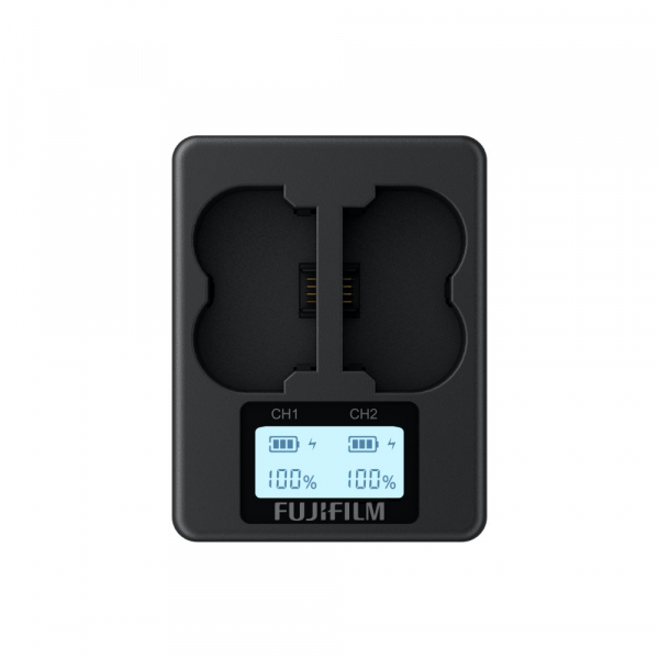 Fujifilm BC-W235 dual akkutöltő 03