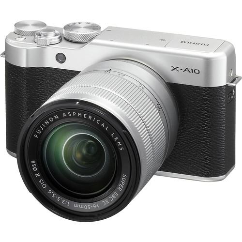 Fujifilm Finepix X-A10 digitális fényképezőgép kit, XC 16-50mm F3,5-5,6 OIS II objektívvel 03