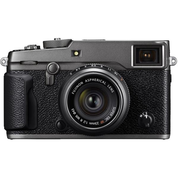 Fujifilm FinePix X-PRO 2 digitális fényképezőgép kit, XF 23mm F2 R WR objektívvel (grafitszürke) 03