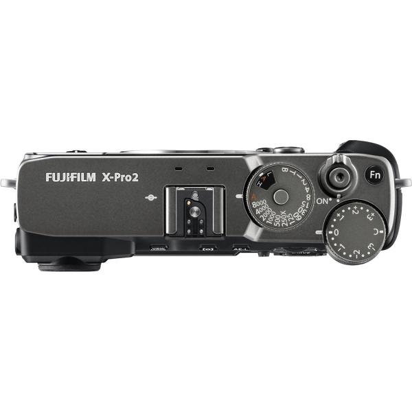 Fujifilm FinePix X-PRO 2 digitális fényképezőgép kit, XF 23mm F2 R WR objektívvel (grafitszürke) 06