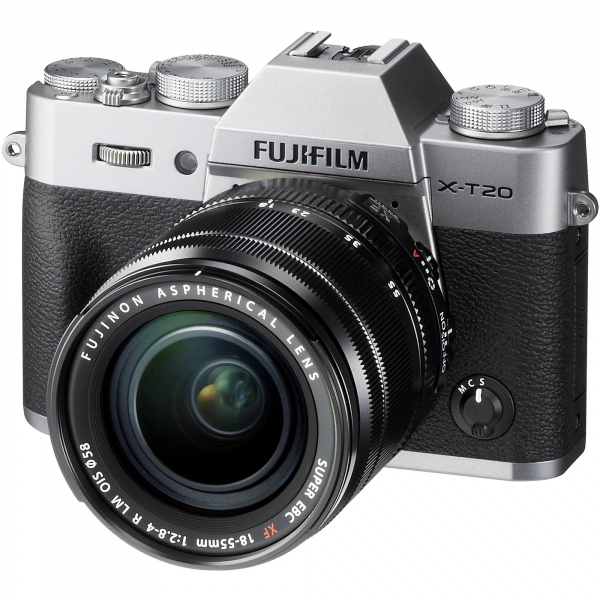 Fujifilm FinePix X-T20 digitális fényképezőgép kit, XF 18-55mm F2,8-4 R objektívvel 04