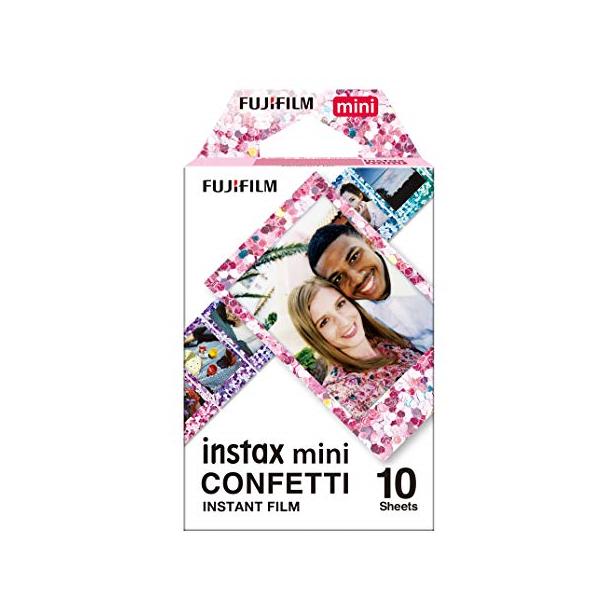 Fujifilm Instax Mini CONFETTI film, Instax gépekhez, 10 db-os 03