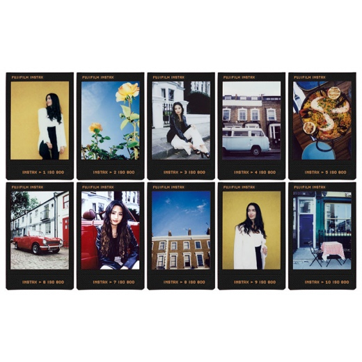 Fujifilm Instax mini film CONTACT SHEET, Instax gépekhez, 10 db-os 04