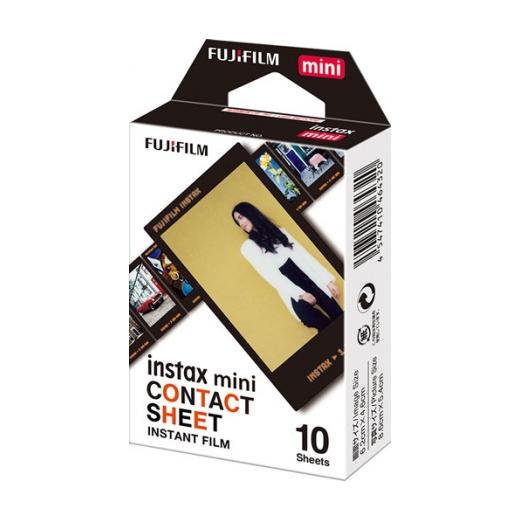 Fujifilm Instax mini film CONTACT SHEET, Instax gépekhez, 10 db-os 03