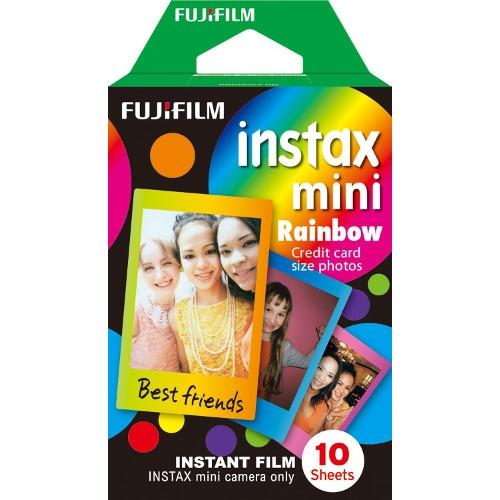 Fujifilm Instax mini film RAINBOW, Instax gépekhez, 10 db-os 03