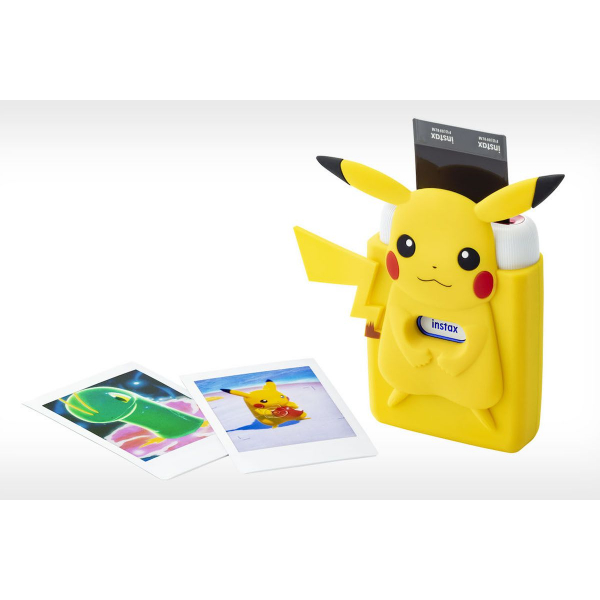Fujifilm Instax Mini Link fotónyomtató -Nintendo Switch Edition -Pikachu Szilikon tokkal 07