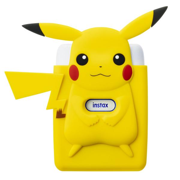 Fujifilm Instax Mini Link fotónyomtató -Nintendo Switch Edition -Pikachu Szilikon tokkal 03