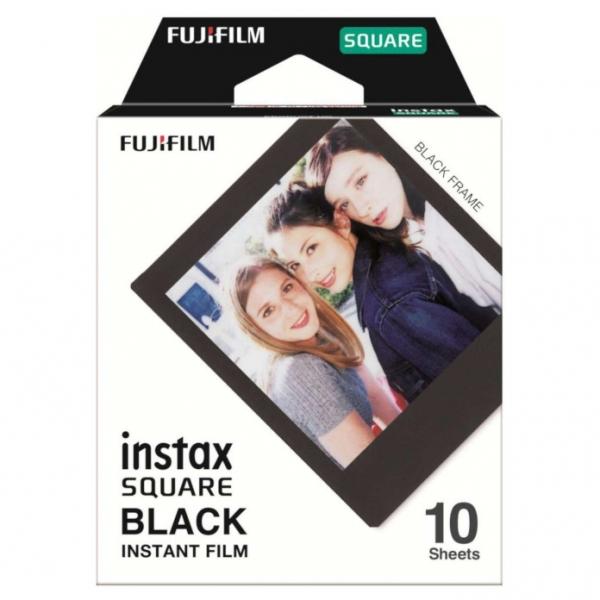 Fujifilm Instax SQUARE BLACK FRAME film, Instax SQUARE gépekhez, 10 db-os 03