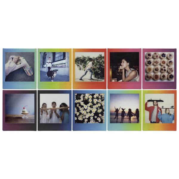 Fujifilm Instax Square Rainbow film, Instax Square gépekhez, 10 db-os 05