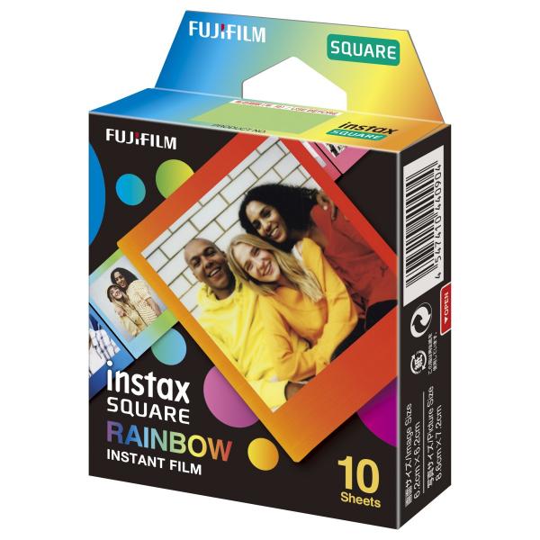 Fujifilm Instax Square Rainbow film, Instax Square gépekhez, 10 db-os 03