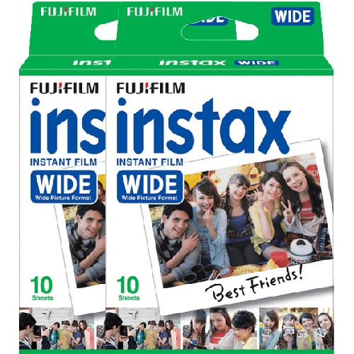 Fujifilm Instax WIDE film, Instax WIDE gépekhez, 20 db-os 03