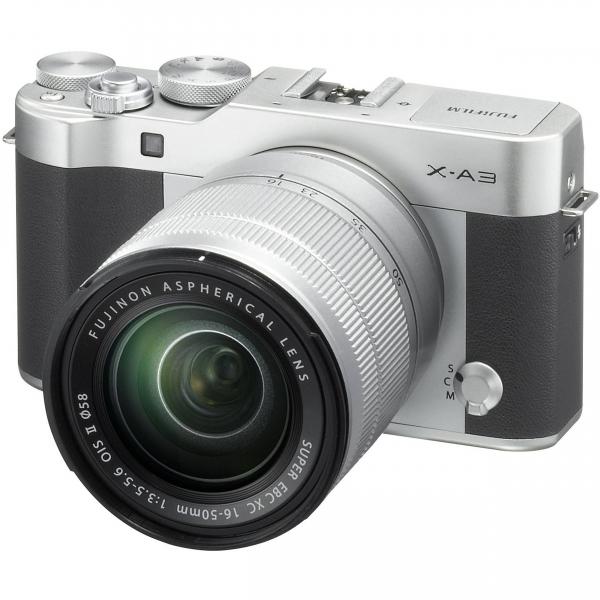 Fujifilm X-A3 digitális fényképezőgép kit, XC 16-50mm OIS II objektívvel 04
