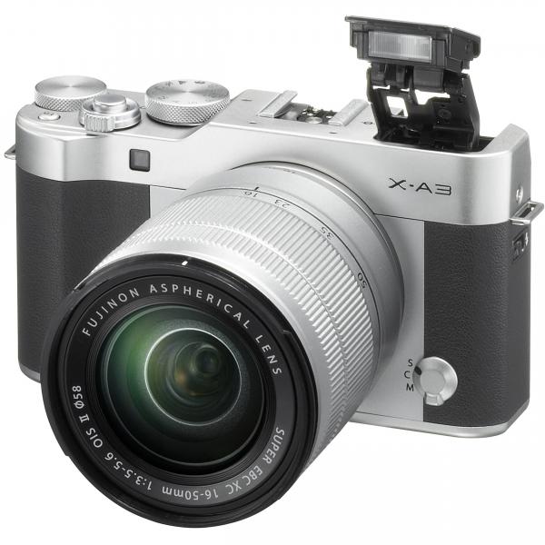 Fujifilm X-A3 digitális fényképezőgép kit, XC 16-50mm OIS II objektívvel 05