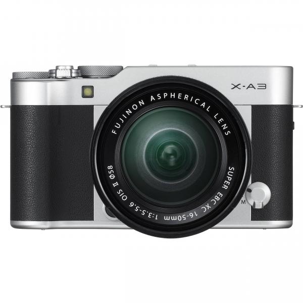 Fujifilm X-A3 digitális fényképezőgép kit, XC 16-50mm OIS II objektívvel 03