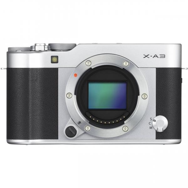 Fujifilm X-A3 digitális fényképezőgép kit, XC 16-50mm OIS II objektívvel 12