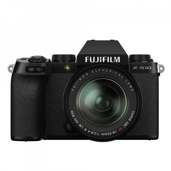 Fujifilm X-S10 digitális fényképezőgép váz + Fujifilm FUJINON XF 18-55mm F2.8-4 R LM OIS objektív 03