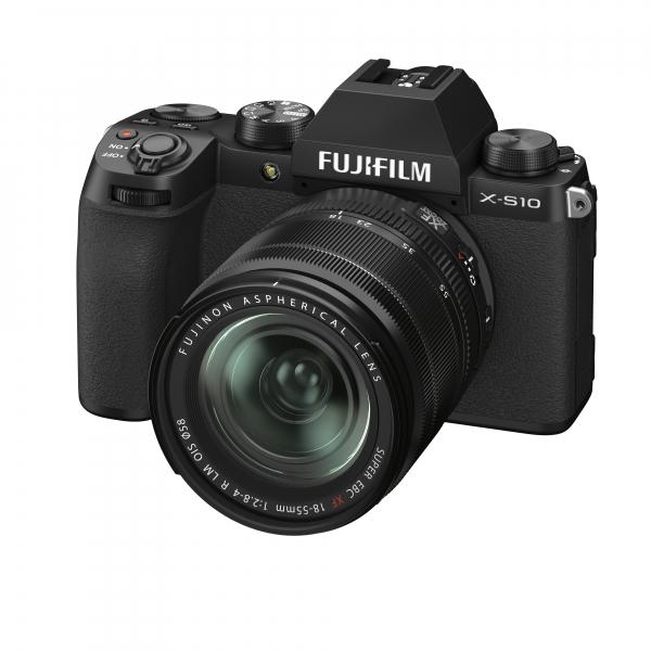 Fujifilm X-S10 digitális fényképezőgép váz + Fujifilm FUJINON XF 18-55mm F2.8-4 R LM OIS objektív 06