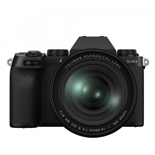 Fujifilm X-S10 digitális fényképezőgép váz + FUJIFILM XF16-80mm F4 R OIS WR objektív 03