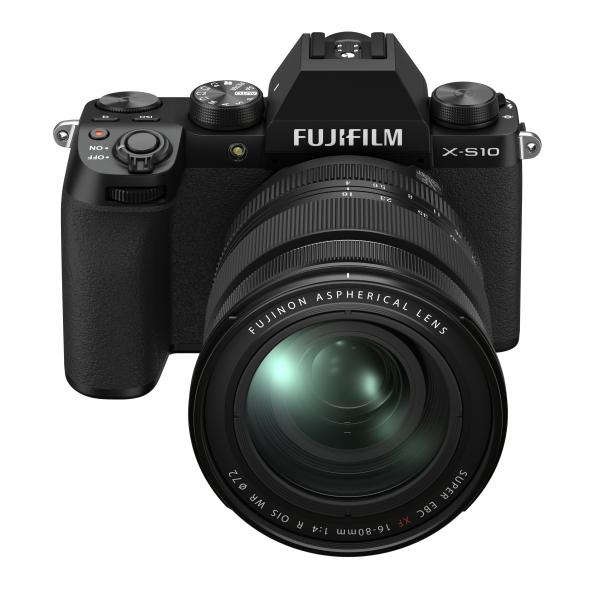 Fujifilm X-S10 digitális fényképezőgép váz + FUJIFILM XF16-80mm F4 R OIS WR objektív 05