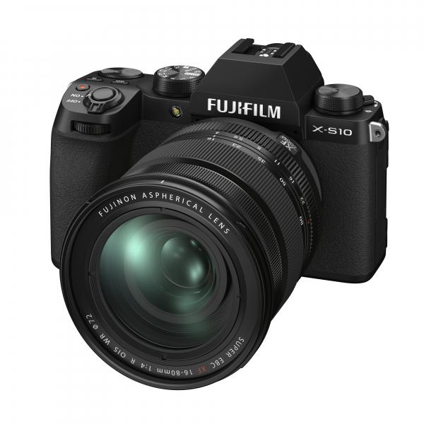 Fujifilm X-S10 digitális fényképezőgép váz + FUJIFILM XF16-80mm F4 R OIS WR objektív 06