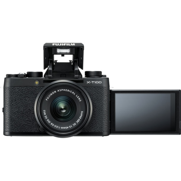 Fujifilm X-T100 digitális fényképezőgép XC 15-45 mm objektívvel 09