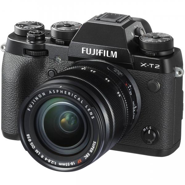 Fujifilm X-T2 digitális fényképezőgép kit, XF 18-55mm R LM OIS obejktívvel 04