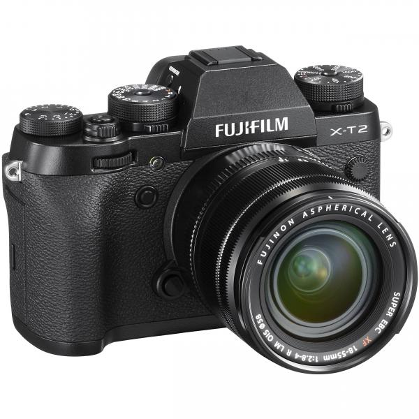 Fujifilm X-T2 digitális fényképezőgép kit, XF 18-55mm R LM OIS obejktívvel 06