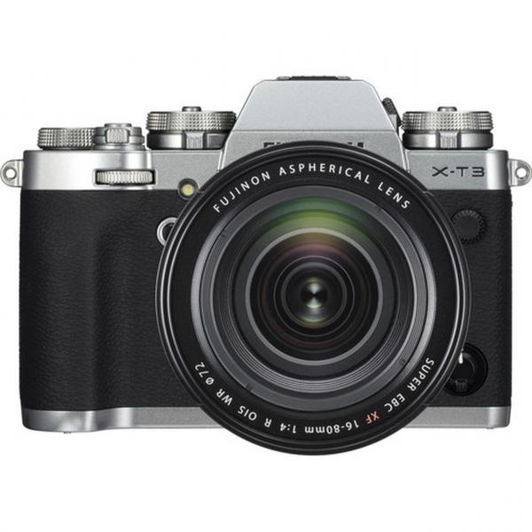Fujifilm X-T3 váz + Fujinon XF16-80 mm F4 R OIS WR objektív 06