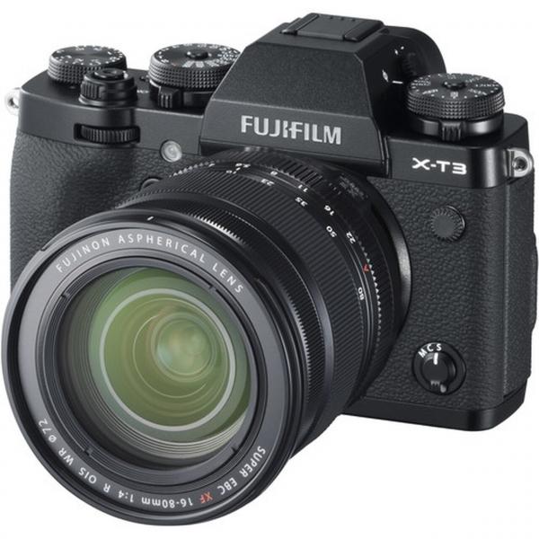 Fujifilm X-T3 váz + Fujinon XF16-80 mm F4 R OIS WR objektív 04