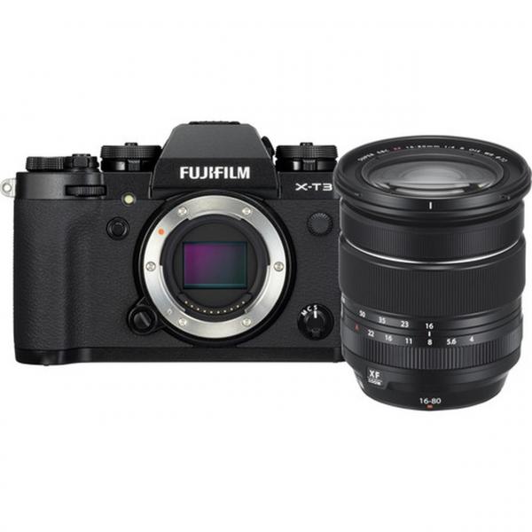 Fujifilm X-T3 váz + Fujinon XF16-80 mm F4 R OIS WR objektív 05