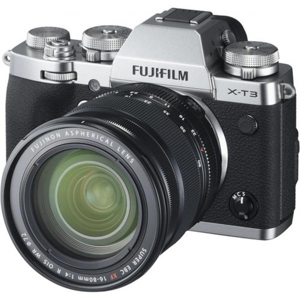 Fujifilm X-T3 váz + Fujinon XF16-80 mm F4 R OIS WR objektív 07