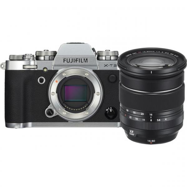 Fujifilm X-T3 váz + Fujinon XF16-80 mm F4 R OIS WR objektív 08