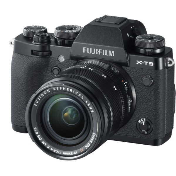 Fujifilm X-T3 váz + Fujinon XF 18-55mm f/2.8-4 R LM OIS objektív 04