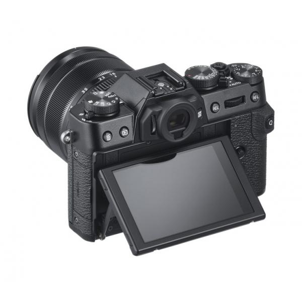 Fujifilm X-T30 fekete + XF 18-55mm objektív 04