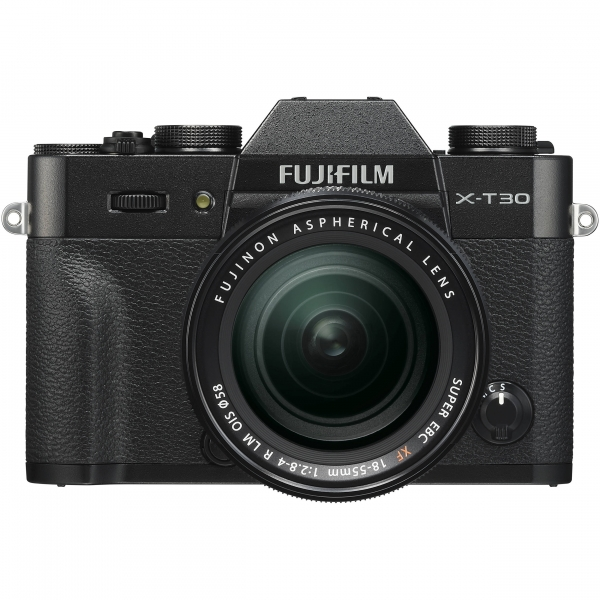 Fujifilm X-T30 fekete + XF 18-55mm objektív 03