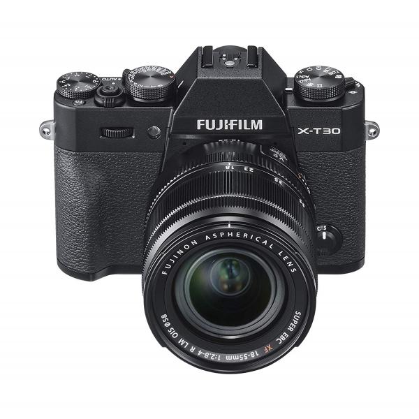 Fujifilm X-T30 fekete + XF 18-55mm objektív 06