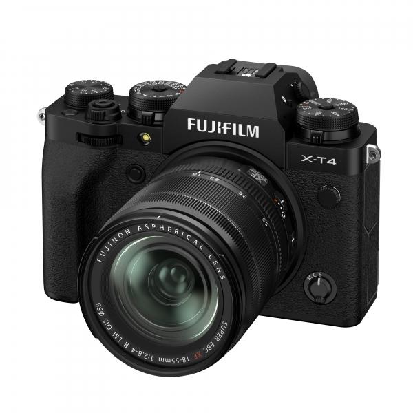 Fujifilm X-T4 digitális fényképezőgép XF 18-55mm F2.8-4 R LM OIS objektívvel 04