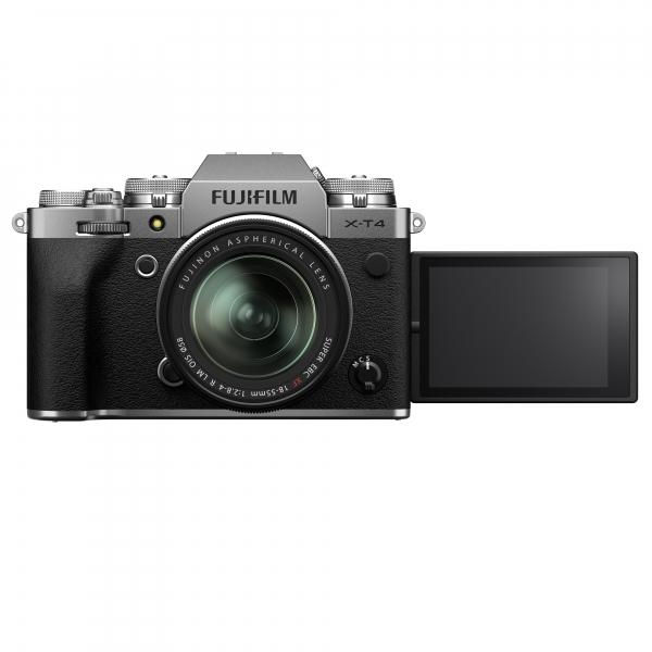 Fujifilm X-T4 digitális fényképezőgép XF 18-55mm F2.8-4 R LM OIS objektívvel 08