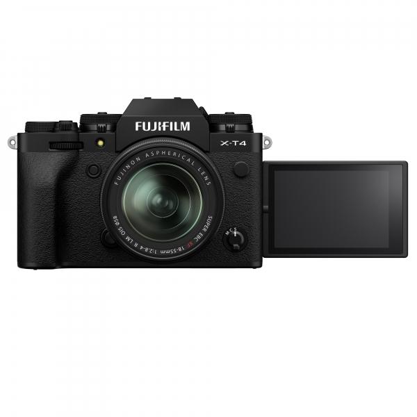 Fujifilm X-T4 digitális fényképezőgép XF 18-55mm F2.8-4 R LM OIS objektívvel 05