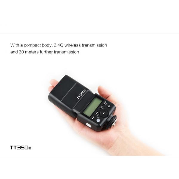 Godox TT350C rendszervaku Canonhoz 06