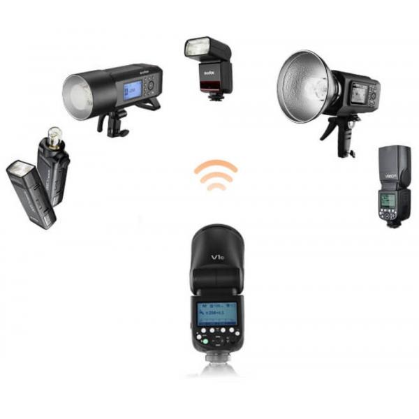 Godox V1-N rendszervaku Nikon készülékekhez 07
