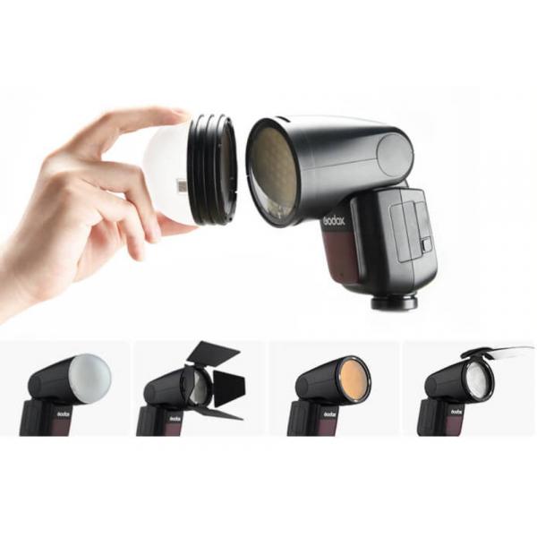 Godox V1-N rendszervaku Nikon készülékekhez 08