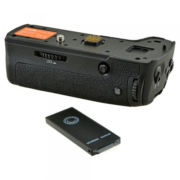 Jupio Panasonic DMC-GH5 (DMW-BGGH5E) utángyártott portrémarkolat 03