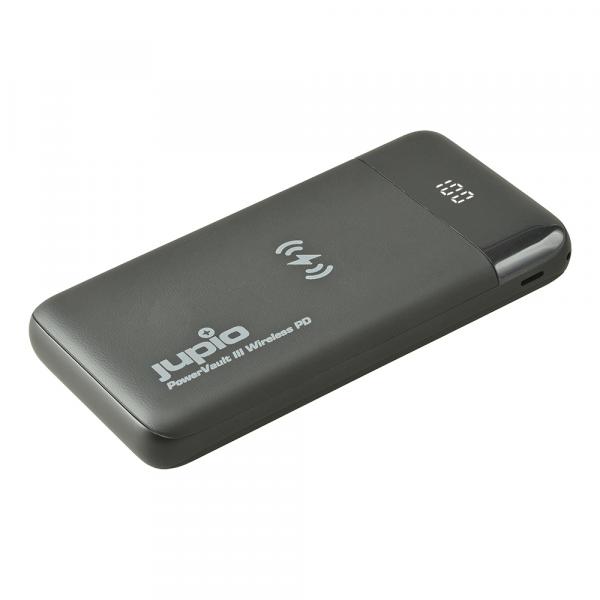 Jupio Power Vault III Wireless PD külső akkumulátor 10000 mAh 04