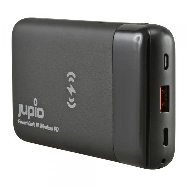 Jupio Power Vault III Wireless PD külső akkumulátor 10000 mAh 06